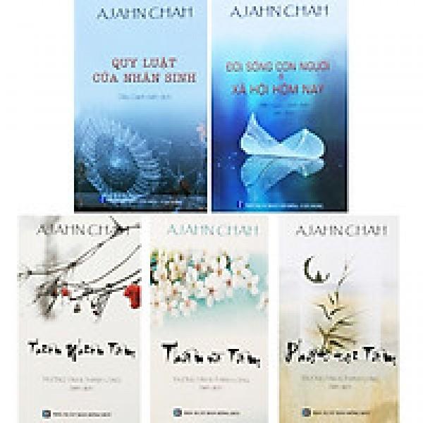 Bộ 5 Cuốn Sách Của Thiền Sư Ajahn Chah : Quy Luật Của Nhân Sinh + Đời Sống Con Người Và Xã Hội Hôm Nay + Phật Tại Tâm + Thân Và Tâm + Thiên Nhiên Tâm